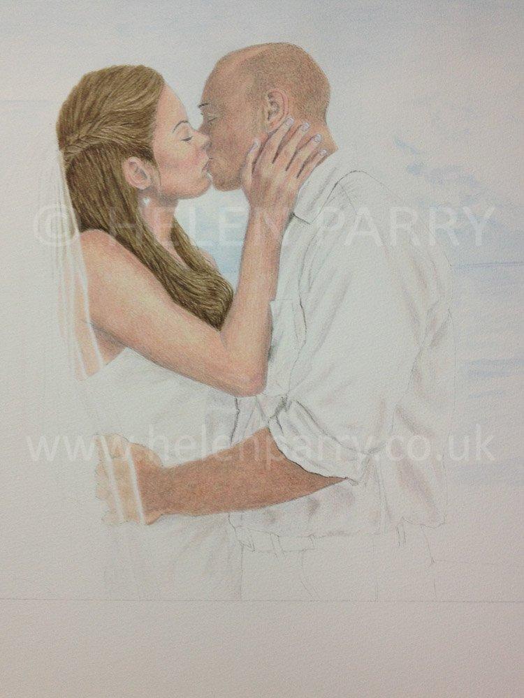 Watercolour Portrait Artist : Helen Parry