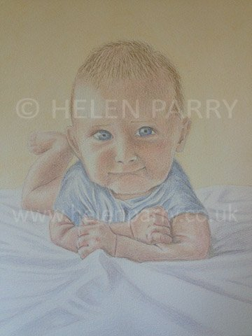 Watercolour Portrait Artist : Helen Parry